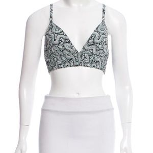 A.L.C. Penelope Silk Top (NWT)-Size:8
